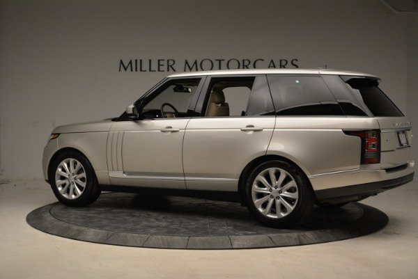Used 2016 Land Rover Range Rover HSE for sale Sold at McLaren Greenwich in Greenwich CT 06830 4