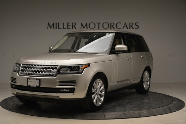 Used 2016 Land Rover Range Rover HSE for sale Sold at McLaren Greenwich in Greenwich CT 06830 1