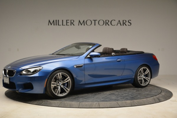 Used 2013 BMW M6 Convertible for sale Sold at McLaren Greenwich in Greenwich CT 06830 2