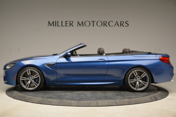 Used 2013 BMW M6 Convertible for sale Sold at McLaren Greenwich in Greenwich CT 06830 3