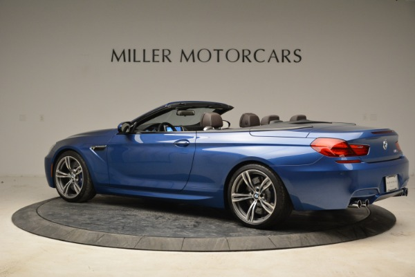 Used 2013 BMW M6 Convertible for sale Sold at McLaren Greenwich in Greenwich CT 06830 4