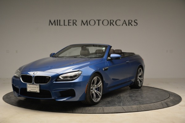 Used 2013 BMW M6 Convertible for sale Sold at McLaren Greenwich in Greenwich CT 06830 1