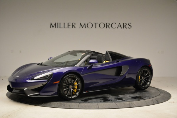 New 2018 McLaren 570S Spider for sale Sold at McLaren Greenwich in Greenwich CT 06830 2