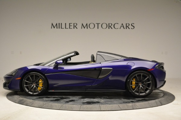 New 2018 McLaren 570S Spider for sale Sold at McLaren Greenwich in Greenwich CT 06830 3