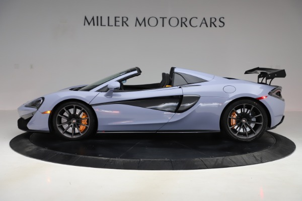 Used 2018 McLaren 570S Spider for sale $167,900 at McLaren Greenwich in Greenwich CT 06830 2