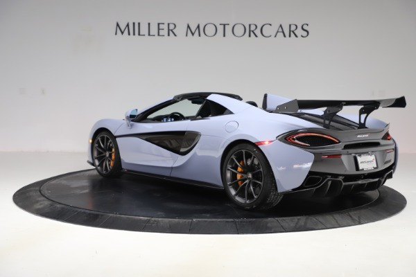 Used 2018 McLaren 570S Spider for sale $167,900 at McLaren Greenwich in Greenwich CT 06830 3