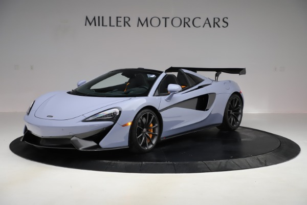 Used 2018 McLaren 570S Spider for sale $167,900 at McLaren Greenwich in Greenwich CT 06830 1