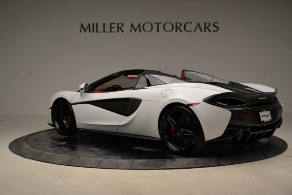 New 2018 McLaren 570S Spider for sale Sold at McLaren Greenwich in Greenwich CT 06830 4