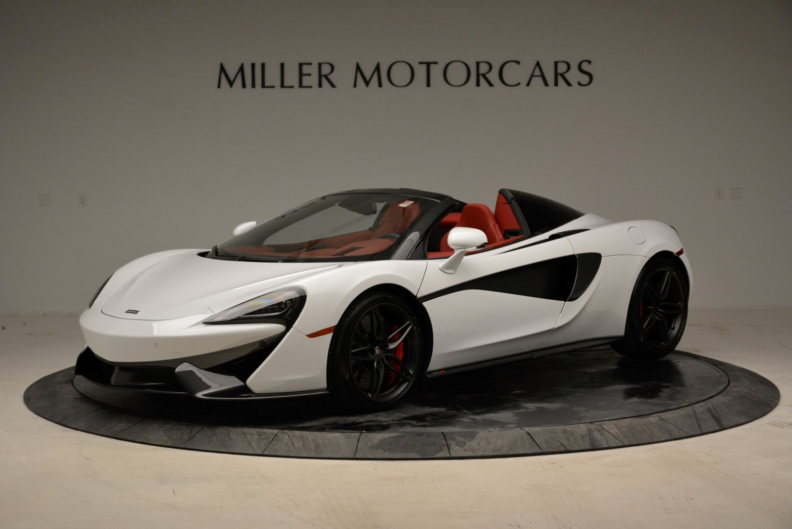 New 2018 McLaren 570S Spider for sale Sold at McLaren Greenwich in Greenwich CT 06830 1