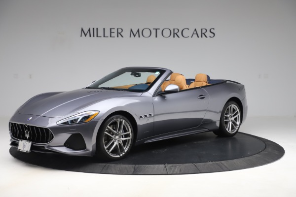 Used 2018 Maserati GranTurismo Sport Convertible for sale Sold at McLaren Greenwich in Greenwich CT 06830 2