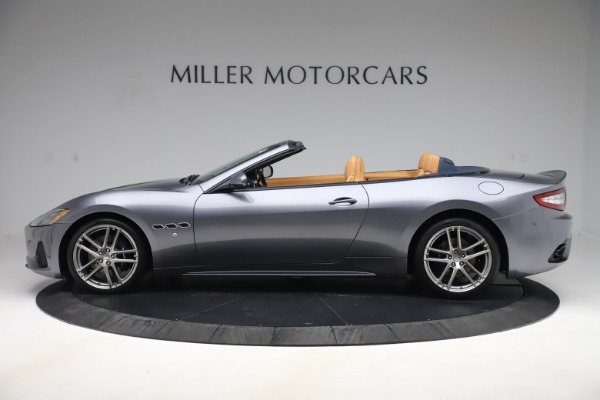 Used 2018 Maserati GranTurismo Sport Convertible for sale Sold at McLaren Greenwich in Greenwich CT 06830 3