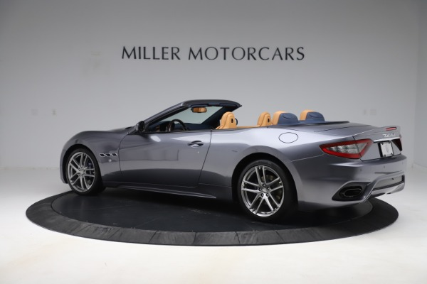 Used 2018 Maserati GranTurismo Sport Convertible for sale Sold at McLaren Greenwich in Greenwich CT 06830 4