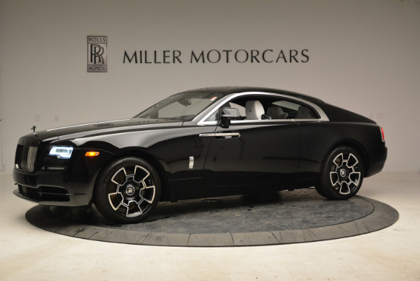 Used 2017 Rolls-Royce Wraith Black Badge for sale Sold at McLaren Greenwich in Greenwich CT 06830 2