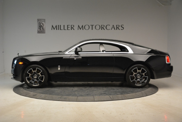 Used 2017 Rolls-Royce Wraith Black Badge for sale Sold at McLaren Greenwich in Greenwich CT 06830 3