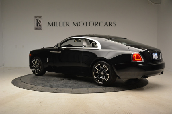 Used 2017 Rolls-Royce Wraith Black Badge for sale Sold at McLaren Greenwich in Greenwich CT 06830 4