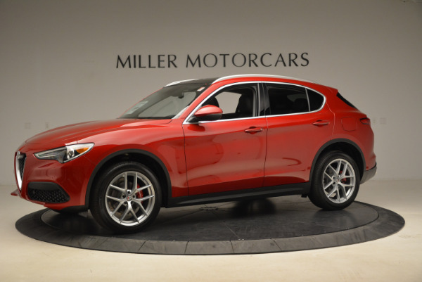 New 2018 Alfa Romeo Stelvio Ti Q4 for sale Sold at McLaren Greenwich in Greenwich CT 06830 2