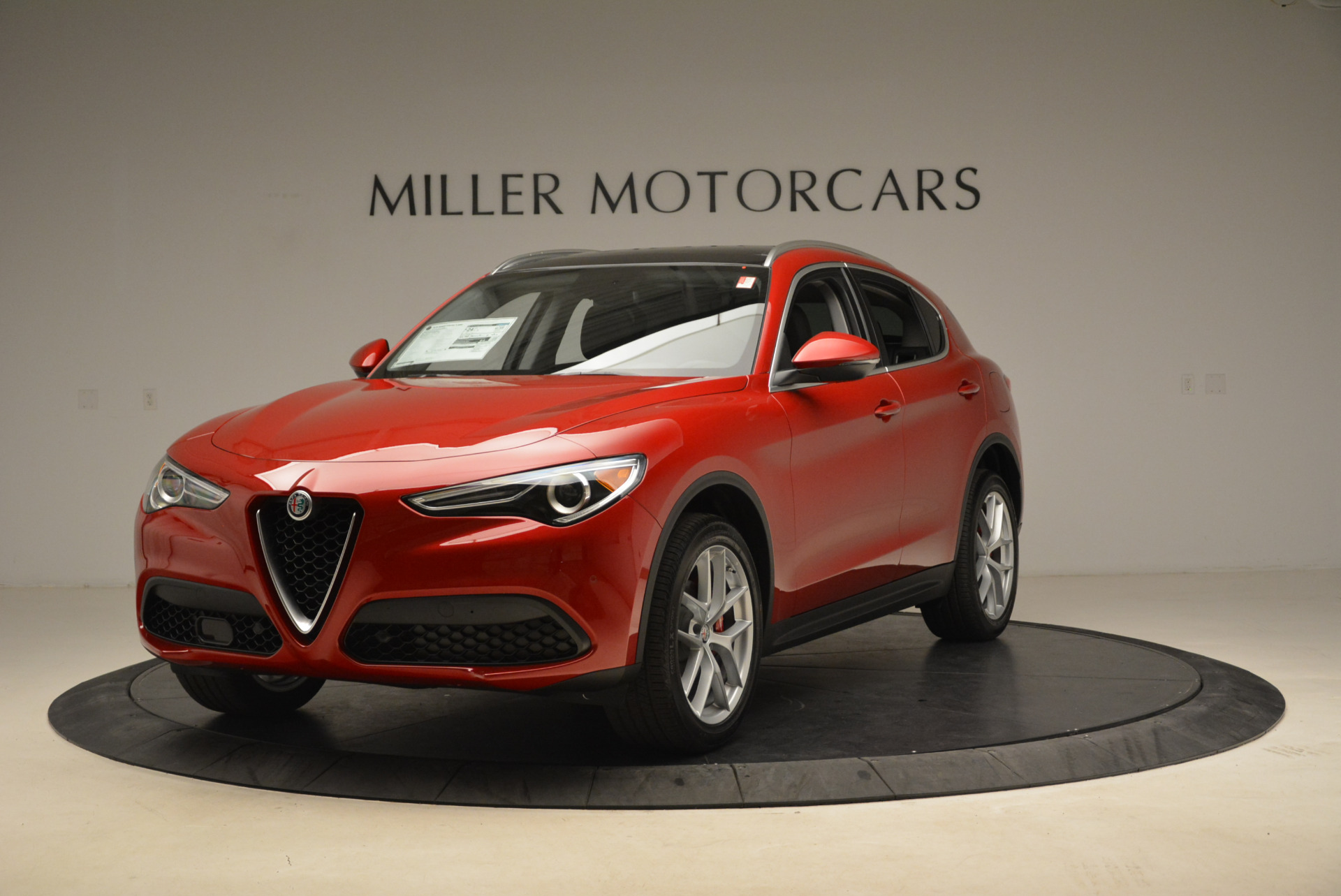 New 2018 Alfa Romeo Stelvio Ti Q4 for sale Sold at McLaren Greenwich in Greenwich CT 06830 1