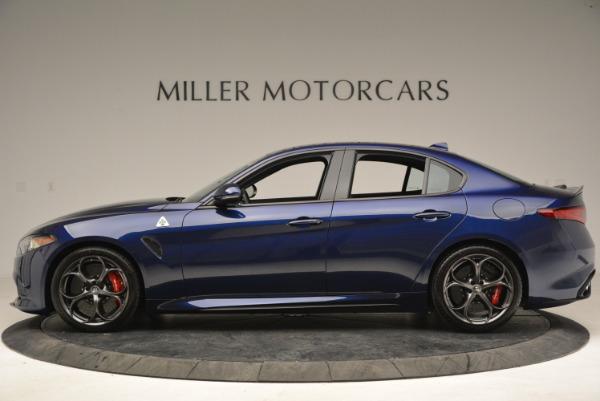 New 2018 Alfa Romeo Giulia Quadrifoglio for sale Sold at McLaren Greenwich in Greenwich CT 06830 3