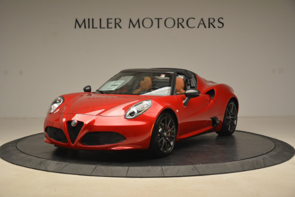 New 2018 Alfa Romeo 4C Spider for sale Sold at McLaren Greenwich in Greenwich CT 06830 1