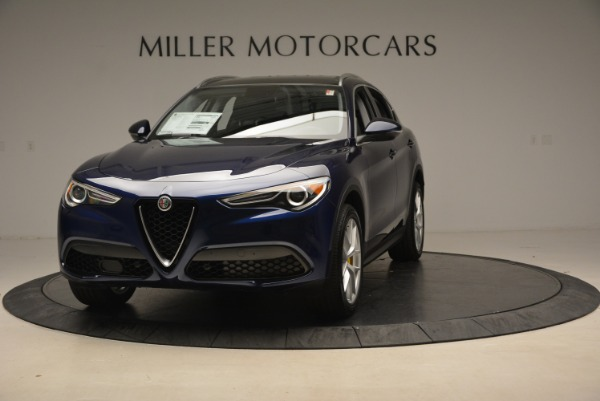 New 2018 Alfa Romeo Stelvio Ti Sport Q4 for sale Sold at McLaren Greenwich in Greenwich CT 06830 2