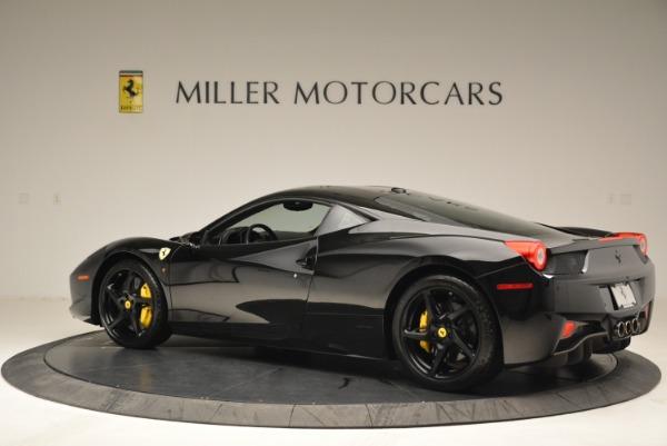 Used 2011 Ferrari 458 Italia for sale Sold at McLaren Greenwich in Greenwich CT 06830 4