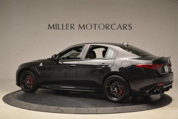 New 2018 Alfa Romeo Giulia Quadrifoglio for sale Sold at McLaren Greenwich in Greenwich CT 06830 4