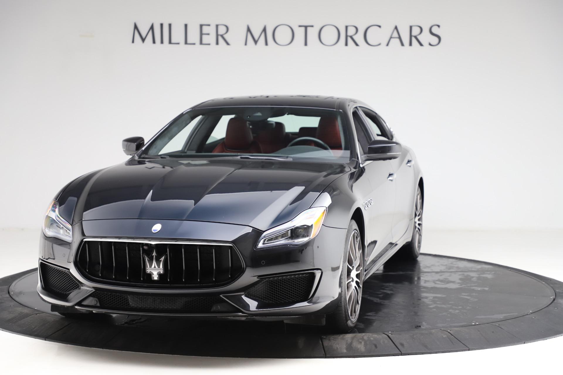 Used 2018 Maserati Quattroporte S Q4 GranSport for sale $67,900 at McLaren Greenwich in Greenwich CT 06830 1