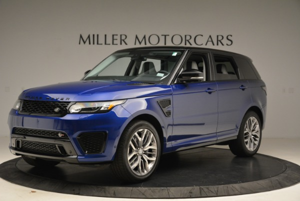 Used 2015 Land Rover Range Rover Sport SVR for sale Sold at McLaren Greenwich in Greenwich CT 06830 2