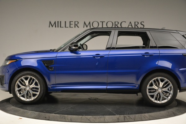 Used 2015 Land Rover Range Rover Sport SVR for sale Sold at McLaren Greenwich in Greenwich CT 06830 3