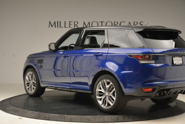 Used 2015 Land Rover Range Rover Sport SVR for sale Sold at McLaren Greenwich in Greenwich CT 06830 4