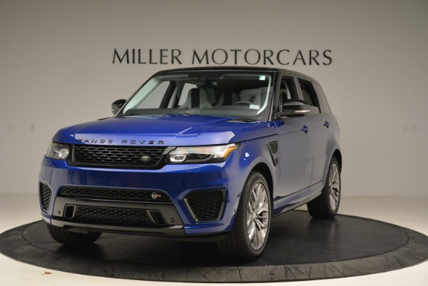 Used 2015 Land Rover Range Rover Sport SVR for sale Sold at McLaren Greenwich in Greenwich CT 06830 1