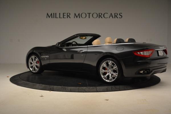 Used 2013 Maserati GranTurismo Convertible for sale Sold at McLaren Greenwich in Greenwich CT 06830 4