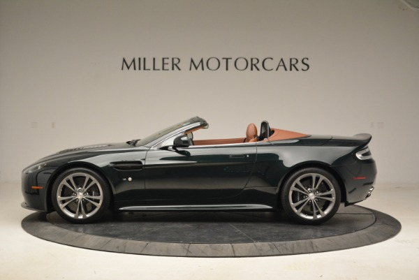 Used 2017 Aston Martin V12 Vantage S Roadster for sale Sold at McLaren Greenwich in Greenwich CT 06830 3