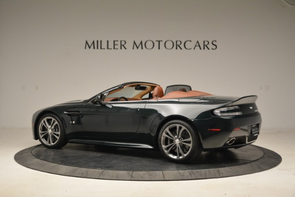 Used 2017 Aston Martin V12 Vantage S Roadster for sale Sold at McLaren Greenwich in Greenwich CT 06830 4