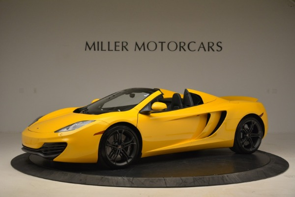 Used 2014 McLaren MP4-12C Spider for sale Sold at McLaren Greenwich in Greenwich CT 06830 2