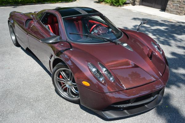 Used 2014 Pagani Huayra for sale Sold at McLaren Greenwich in Greenwich CT 06830 3