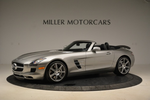 Used 2012 Mercedes-Benz SLS AMG for sale Sold at McLaren Greenwich in Greenwich CT 06830 2