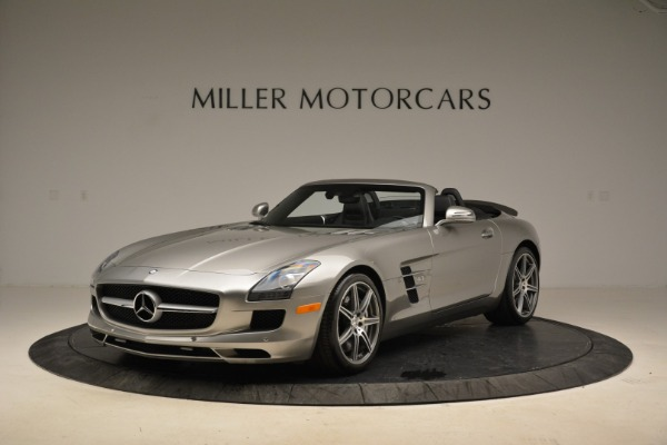 Used 2012 Mercedes-Benz SLS AMG for sale Sold at McLaren Greenwich in Greenwich CT 06830 1