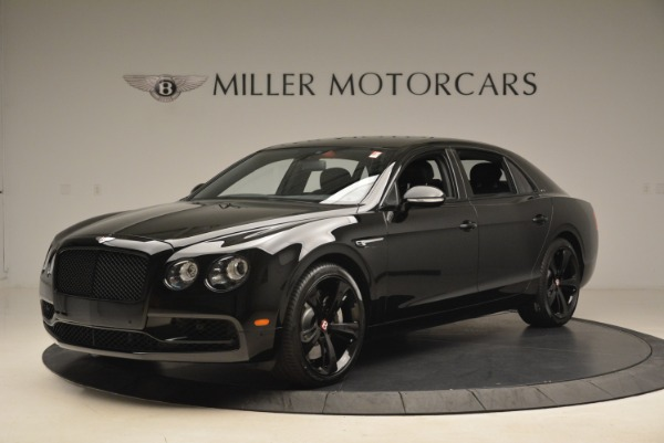 New 2018 Bentley Flying Spur V8 S Black Edition for sale Sold at McLaren Greenwich in Greenwich CT 06830 2