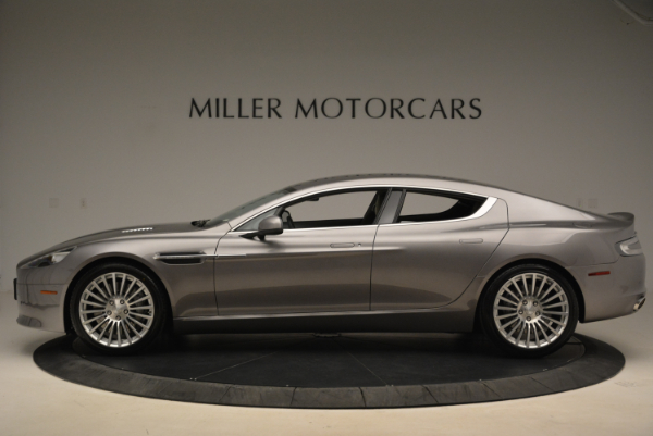 Used 2014 Aston Martin Rapide S for sale Sold at McLaren Greenwich in Greenwich CT 06830 3