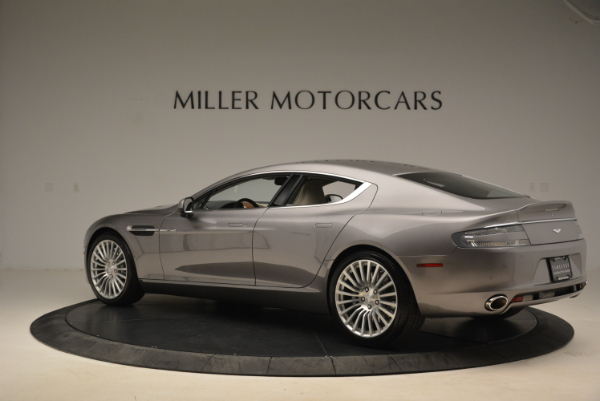 Used 2014 Aston Martin Rapide S for sale Sold at McLaren Greenwich in Greenwich CT 06830 4