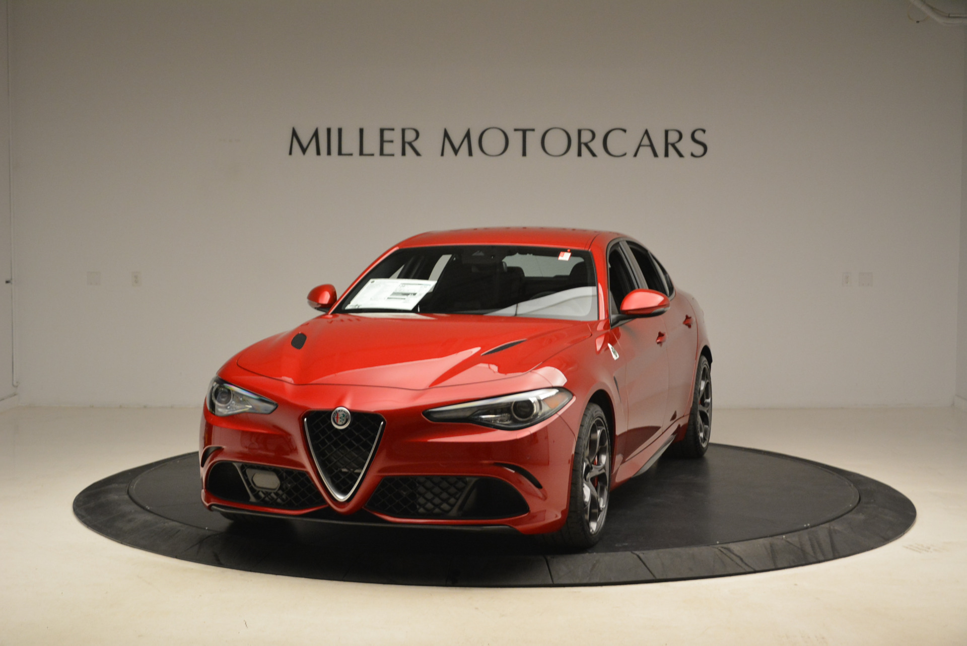 New 2018 Alfa Romeo Giulia Quadrifoglio for sale Sold at McLaren Greenwich in Greenwich CT 06830 1