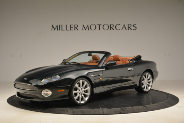 Used 2003 Aston Martin DB7 Vantage Volante for sale Sold at McLaren Greenwich in Greenwich CT 06830 2