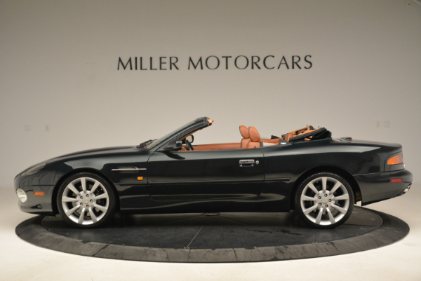 Used 2003 Aston Martin DB7 Vantage Volante for sale Sold at McLaren Greenwich in Greenwich CT 06830 3