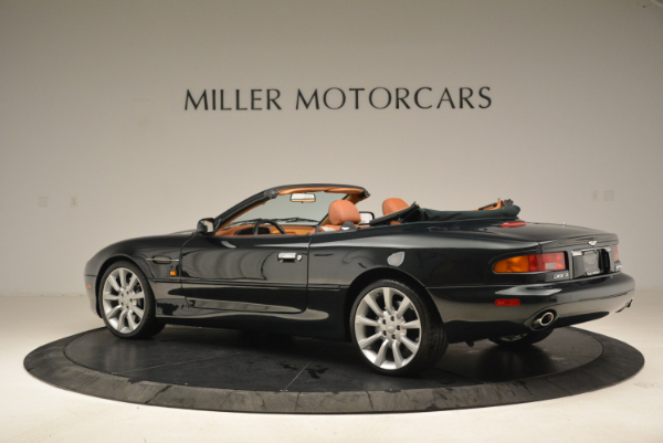 Used 2003 Aston Martin DB7 Vantage Volante for sale Sold at McLaren Greenwich in Greenwich CT 06830 4