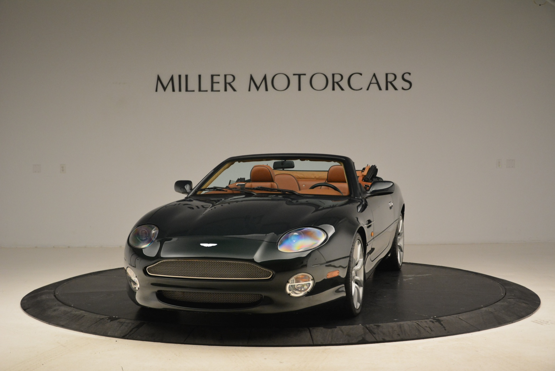 Used 2003 Aston Martin DB7 Vantage Volante for sale Sold at McLaren Greenwich in Greenwich CT 06830 1