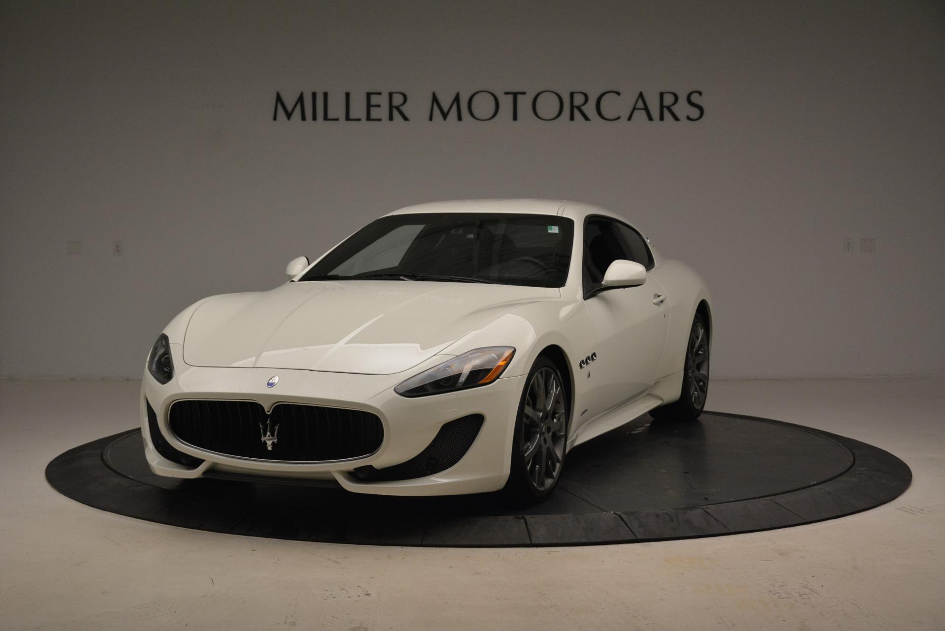 Used 2016 Maserati GranTurismo Sport for sale $61,900 at McLaren Greenwich in Greenwich CT 06830 1