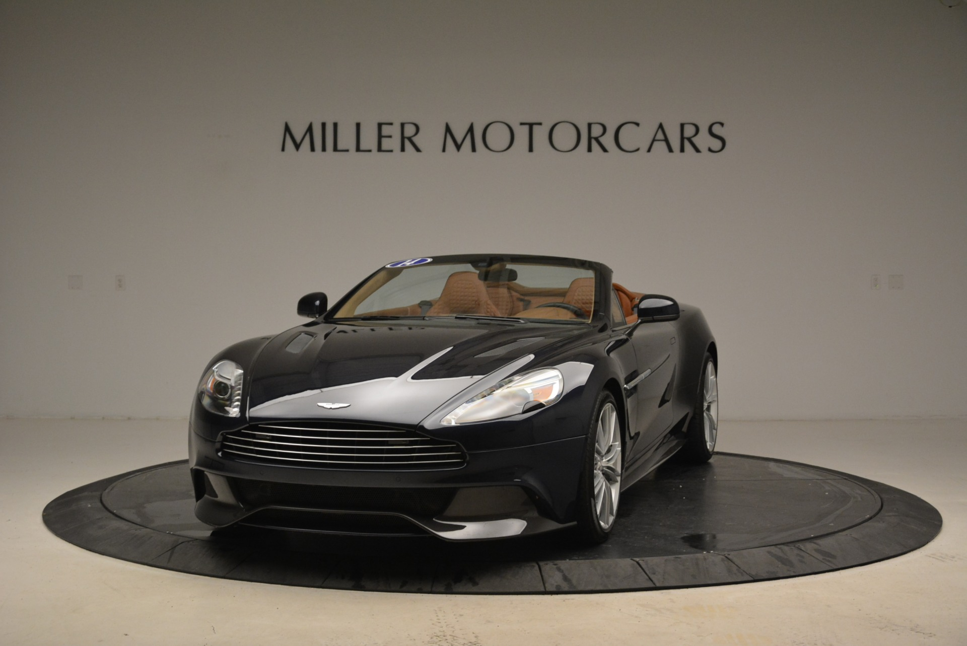Used 2014 Aston Martin Vanquish Volante for sale Sold at McLaren Greenwich in Greenwich CT 06830 1