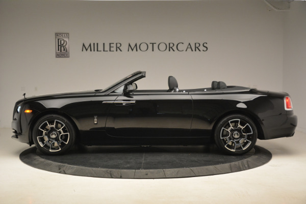 New 2018 Rolls-Royce Dawn Black Badge for sale Sold at McLaren Greenwich in Greenwich CT 06830 3