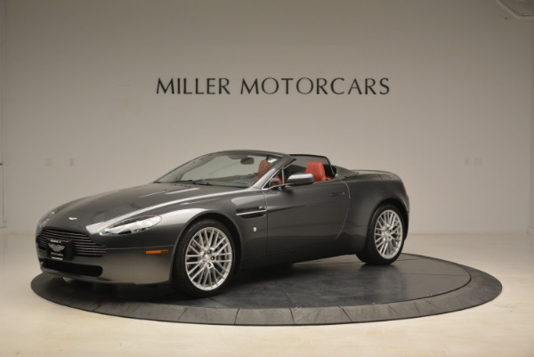 Used 2009 Aston Martin V8 Vantage Roadster for sale Sold at McLaren Greenwich in Greenwich CT 06830 2